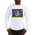 Starry Night & Husky Long Sleeve T-Shirt