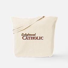 Enlightened Catholic Tote Bag