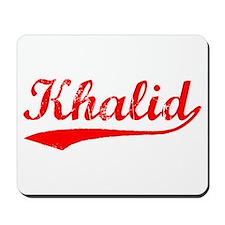Vintage Khalid (Red) Mousepad