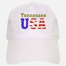 Tennessee USA Baseball Baseball Cap