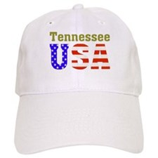 Tennessee USA Baseball Cap