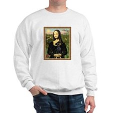 Mona Lisa (new) Min. Pinscher Sweatshirt
