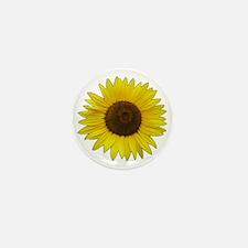 Helaine's Sunflower Mini Button (100 pack)