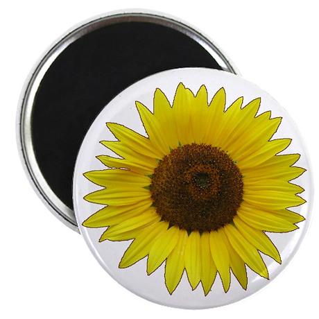 """Helaine's Sunflower 2.25"""" Magnet (10 pack)"""