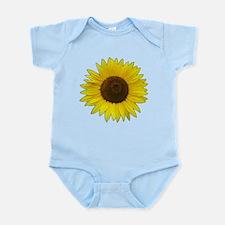 Helaine's Sunflower Infant Bodysuit