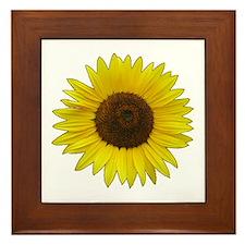 Helaine's Sunflower Framed Tile
