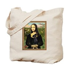 Mona Lisa (new) Min. Pinscher Tote Bag