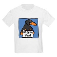 Will Whine BT Weinerdog T-Shirt