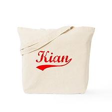Vintage Kian (Red) Tote Bag