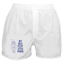 Say Hello Boxer Shorts