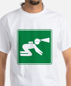 Spelunking Sign Shirt