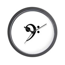 The Low End Wall Clock