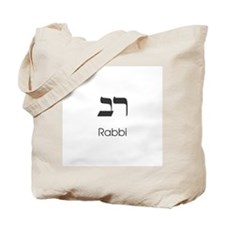 Classic Rabbi Tote Bag