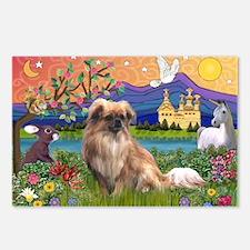 Tibetan Spaniel in Fantasyland Postcards (Package