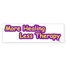 More Healing Bumper Sticker (10 pk)