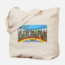 Mississippi State Greetings Tote Bag