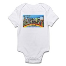 Mississippi State Greetings Infant Bodysuit