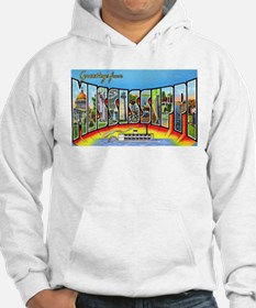 Mississippi State Greetings (Front) Hoodie