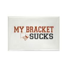 My Bracket Sucks Rectangle Magnet (10 pack)