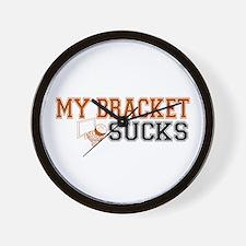 My Bracket Sucks Wall Clock