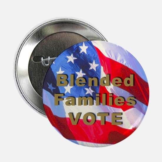 Blended Families Vote Button 2.25 in