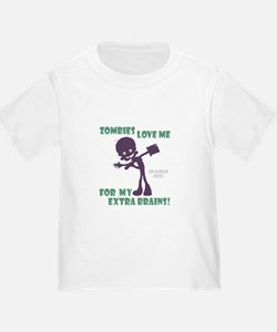Zombies Love Me III T-Shirt