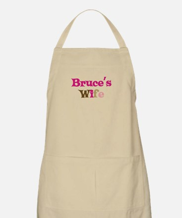 Bruce's Wife BBQ Apron