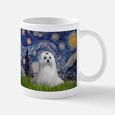 Starry Night & Maltese Mug