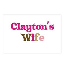 Clayton's Wife Postcards (Package of 8)