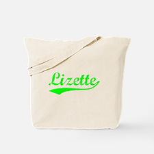 Vintage Lizette (Green) Tote Bag