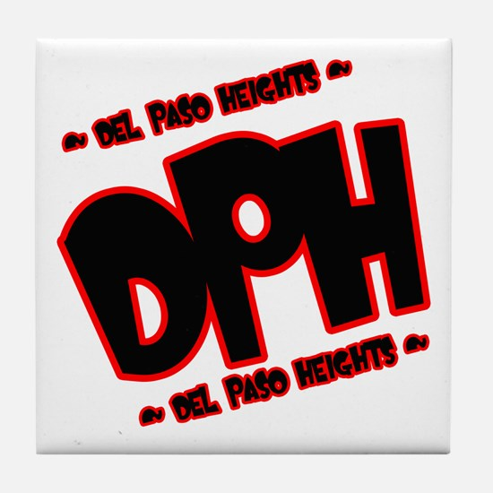 DEL PASO HEIGHTS (DPH) -- T-S Tile Coaster