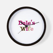 Dale's Wife Wall Clock