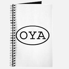 OYA Oval Journal