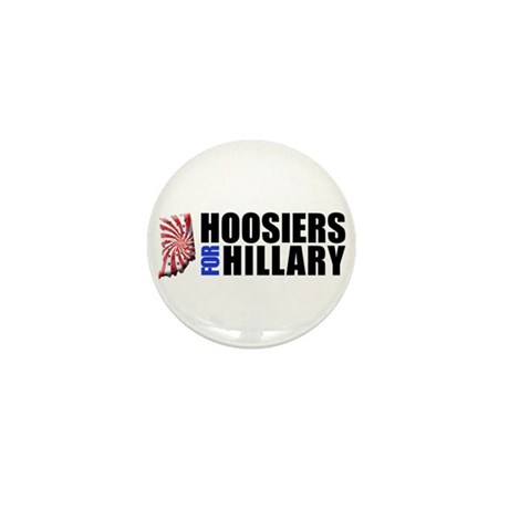 Hoosiers for Hillary! Mini Button (10 pack)