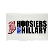Hoosiers for Hillary! Rectangle Magnet