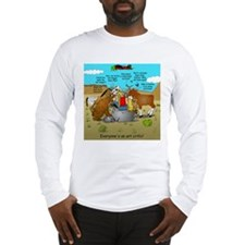 Long Sleeve T-Shirt Everyones an art critic!