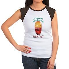Waterboarding Women's Cap Sleeve T-Shirt