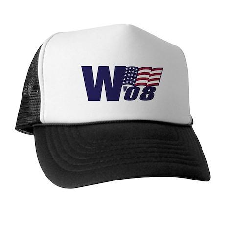 George W. Bush in '08 Trucker Hat