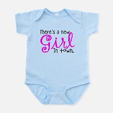New Girl in town Infant Bodysuit
