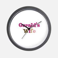 Gerald's Wife Wall Clock