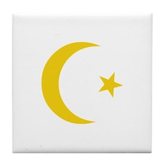 Anarchy Symbol Tile Coaster