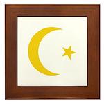 Anarchy Symbol Framed Tile