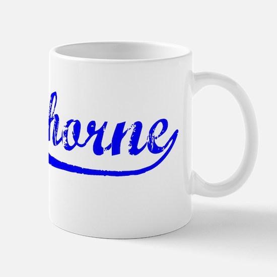 Vintage Hawthorne (Blue) Mug