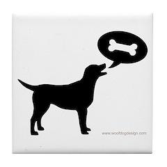 Labrador Retriever Treat Tile Coaster