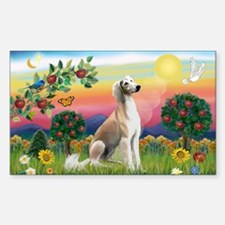 Bright Country with Saluki Decal