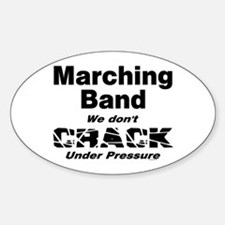 Marching Band Oval Decal