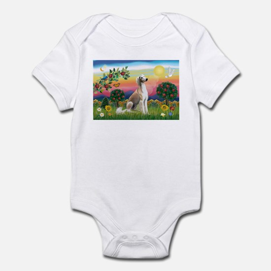 Bright Country with Saluki Infant Bodysuit