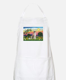 Bright Country with Saluki Apron
