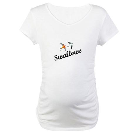 Swallows Maternity T-Shirt