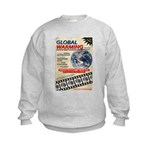 Global Warming Hollywood Vintage Poster Kids Sweat